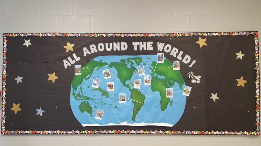 All Around The World is the theme of Homecoming at Wiregrass Ranch