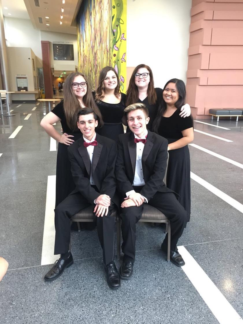 Wiregrass Ranch students at the USF Choir Festival