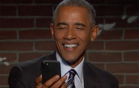 "Obama's Reaction to offensive tweets on ""Jimmy Kimmel Live"""