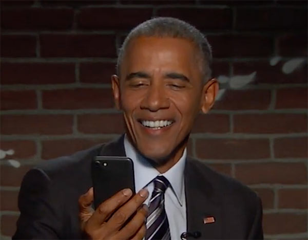 President Obama's reaction to offensive tweets