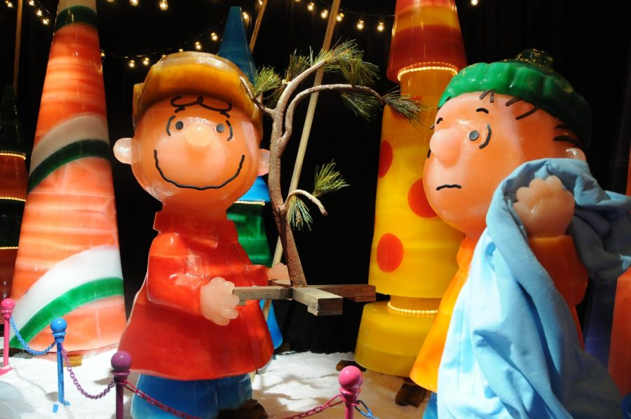 Photo Credit: GoingPlacesNearAndFar's Blog - WordPress.com  A Charlie Brown Christmas at ICE palace.