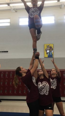 Cheerleading Team Advances to Nationals