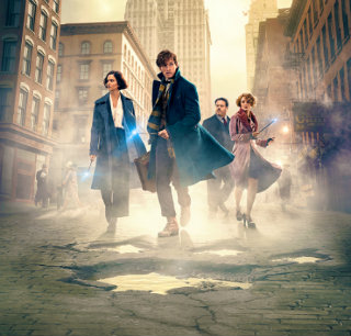 Promotional Poster for Fantastic Beasts and Where to Find Them.