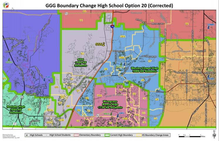 Pasco County Zoning Map Rezoning changes for Pasco County Schools – The Stampede