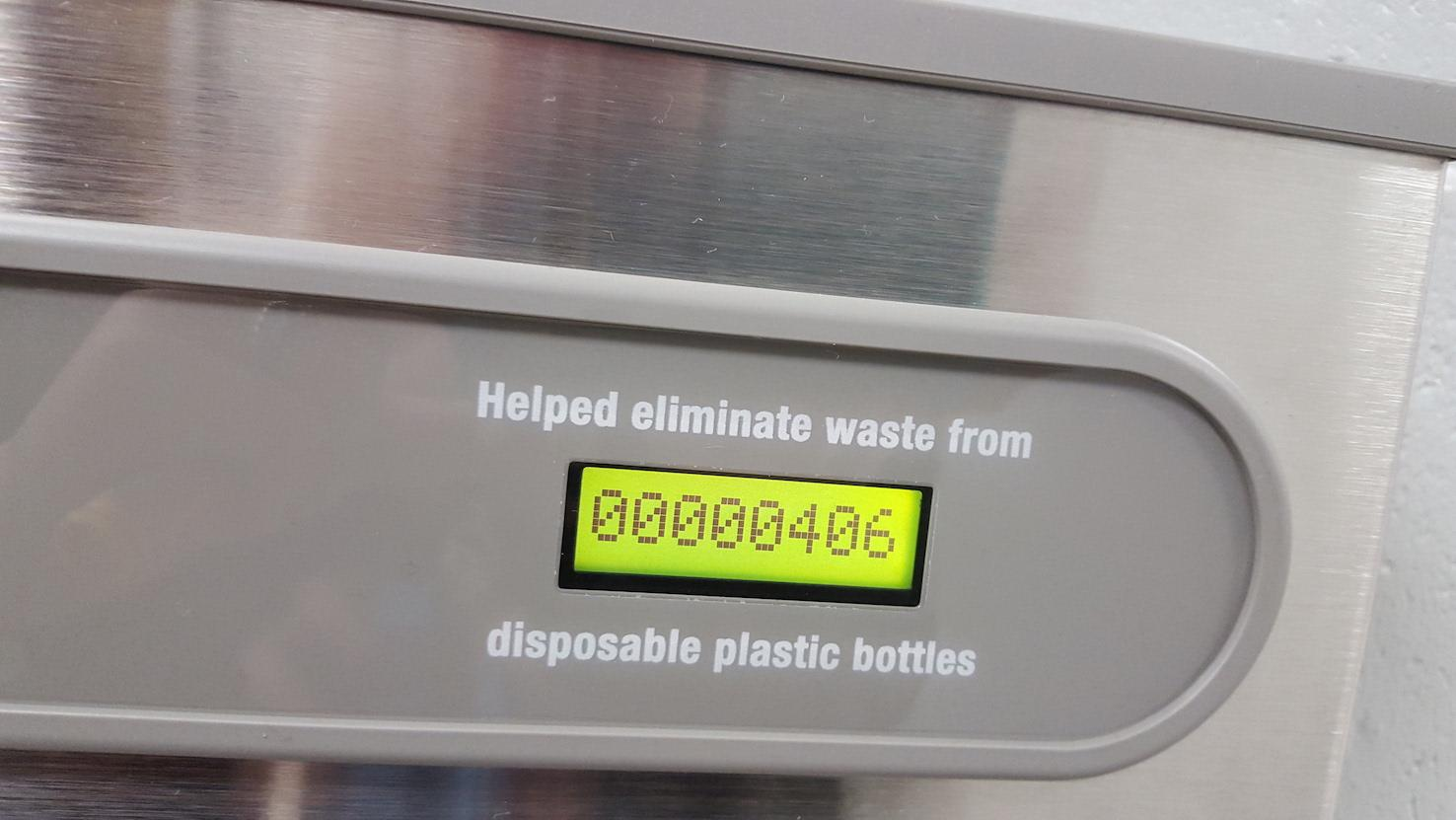 As of 6:50am, January 18th, WRHS has helped eliminate waste from 406 plastic bottles!!
