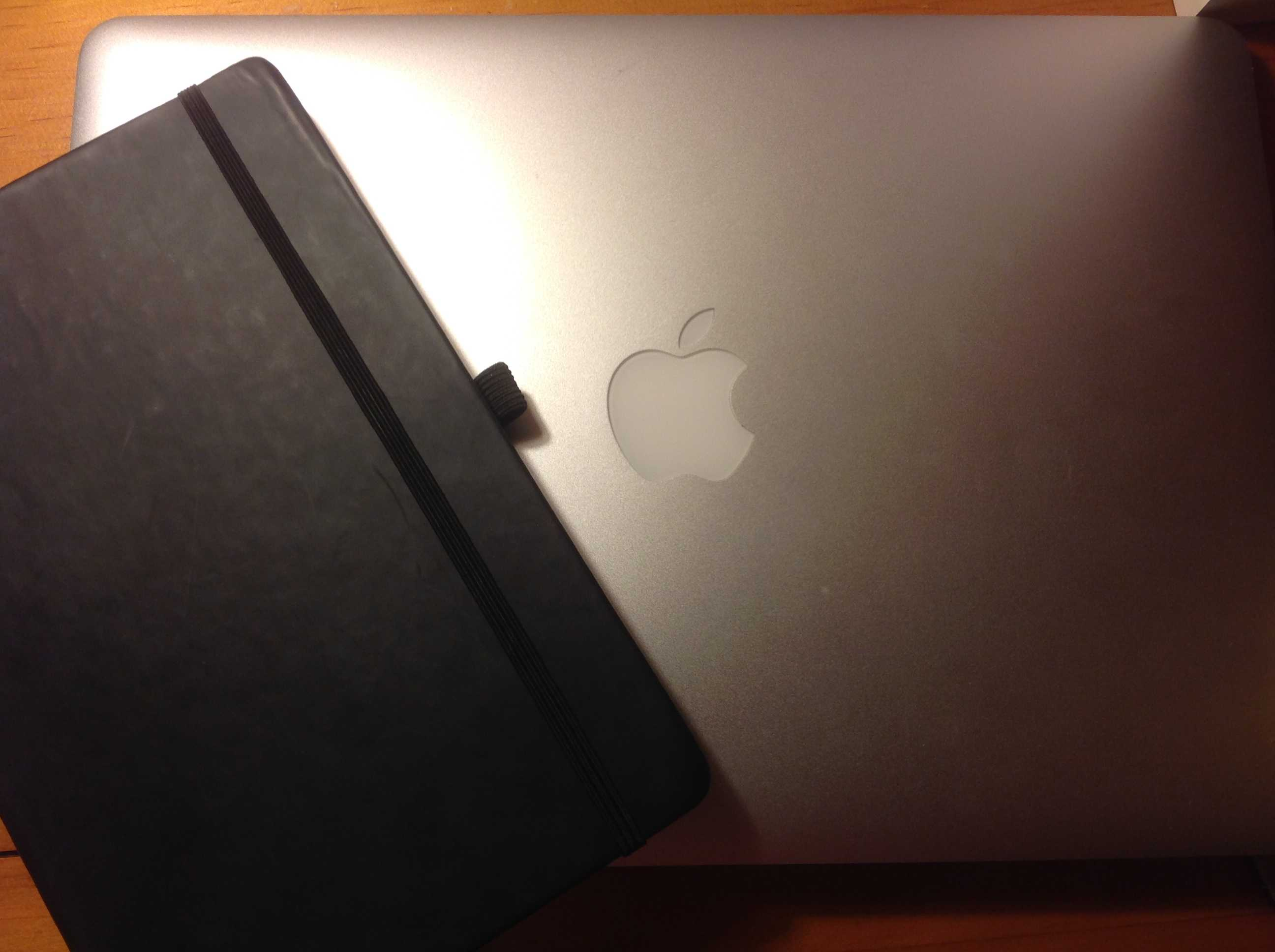 The planner and laptop I use to plan tasks and complete work