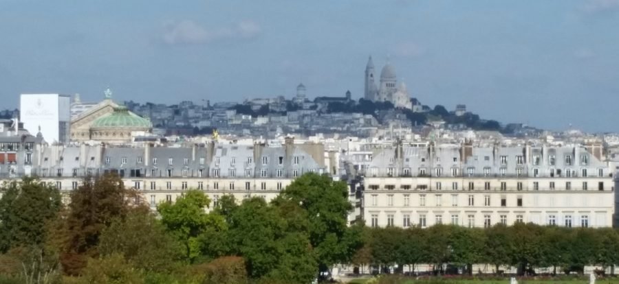 A shot of Paris, from the Musée d'Orsay.
