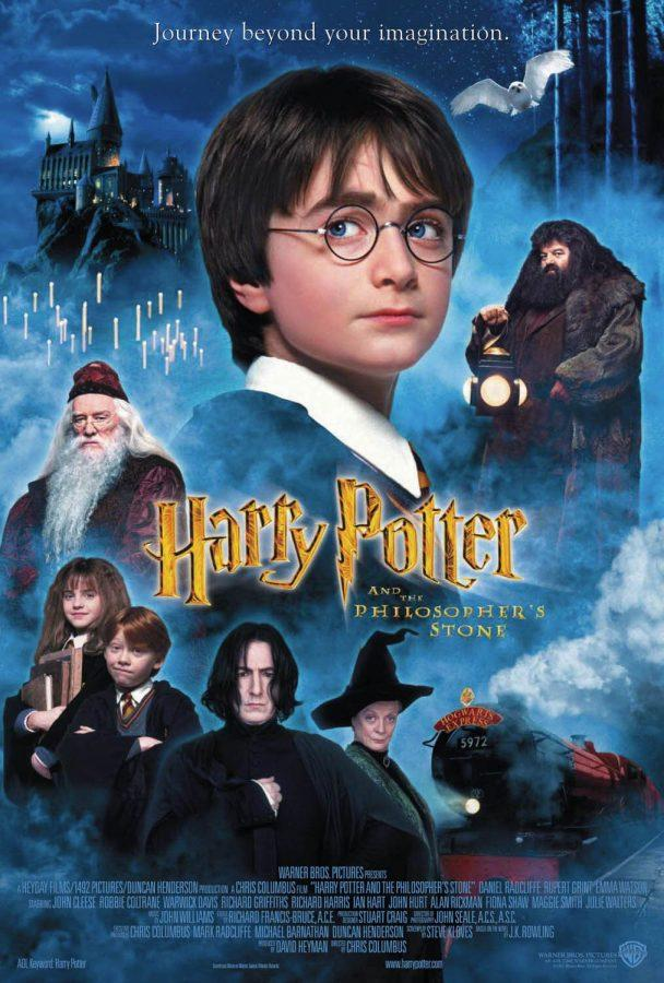 Movie cover for Harry Potter and The Philosophers Stone (2001)