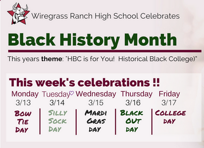 WRHS honors Black History Month