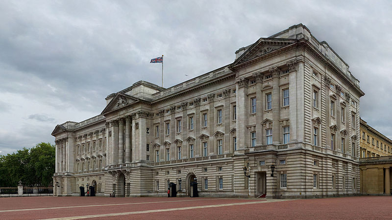 All Brits have tea with the Queen here every Sunday afternoon.