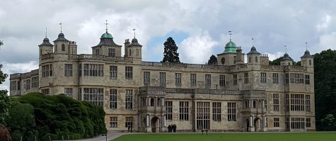 Audley End House is currently a third of its former size.