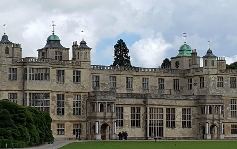 Audley End House is currently a third of it's former size.