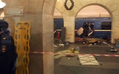 Explosion at Russian metro stations