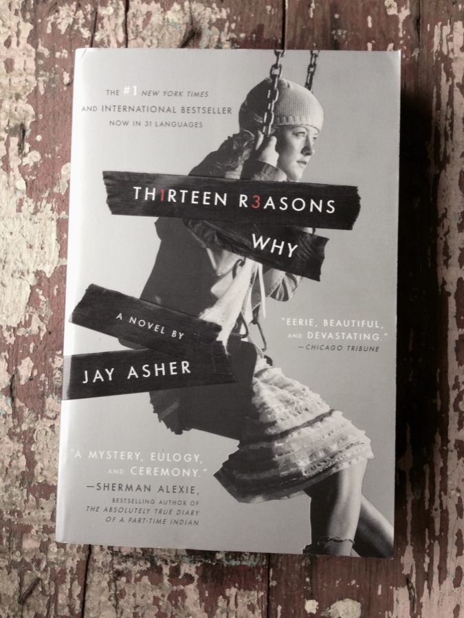 Original cover of Thirteen Reasons Why novel.
