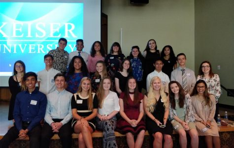 All of the Key Club members from WRHS that attended KCKC