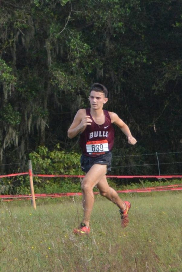 Boys Conference Cross Country meet
