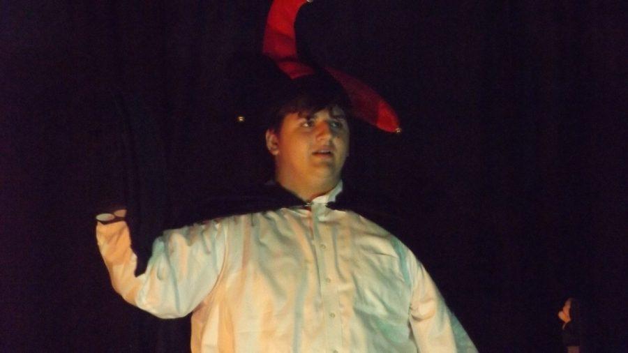 JD McDonald as Montresor in The Cask of Amontillado.