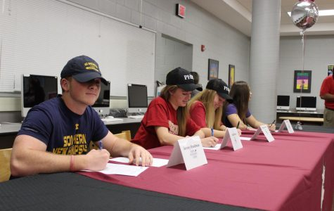 Early signing day by four Bulls athletes