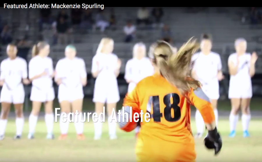 Featured Athlete: Soccer goalie, Mackenzie Spurling
