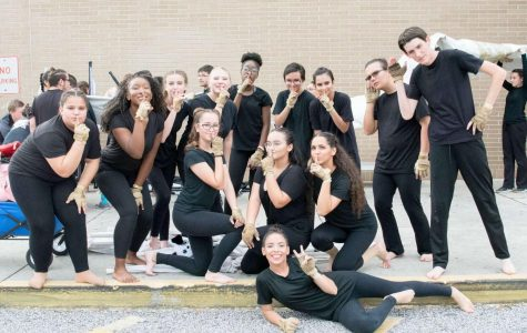 Winter Guard competes at FFCC Premiere West