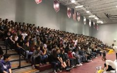 Incoming Freshmen welcomed in pep rally