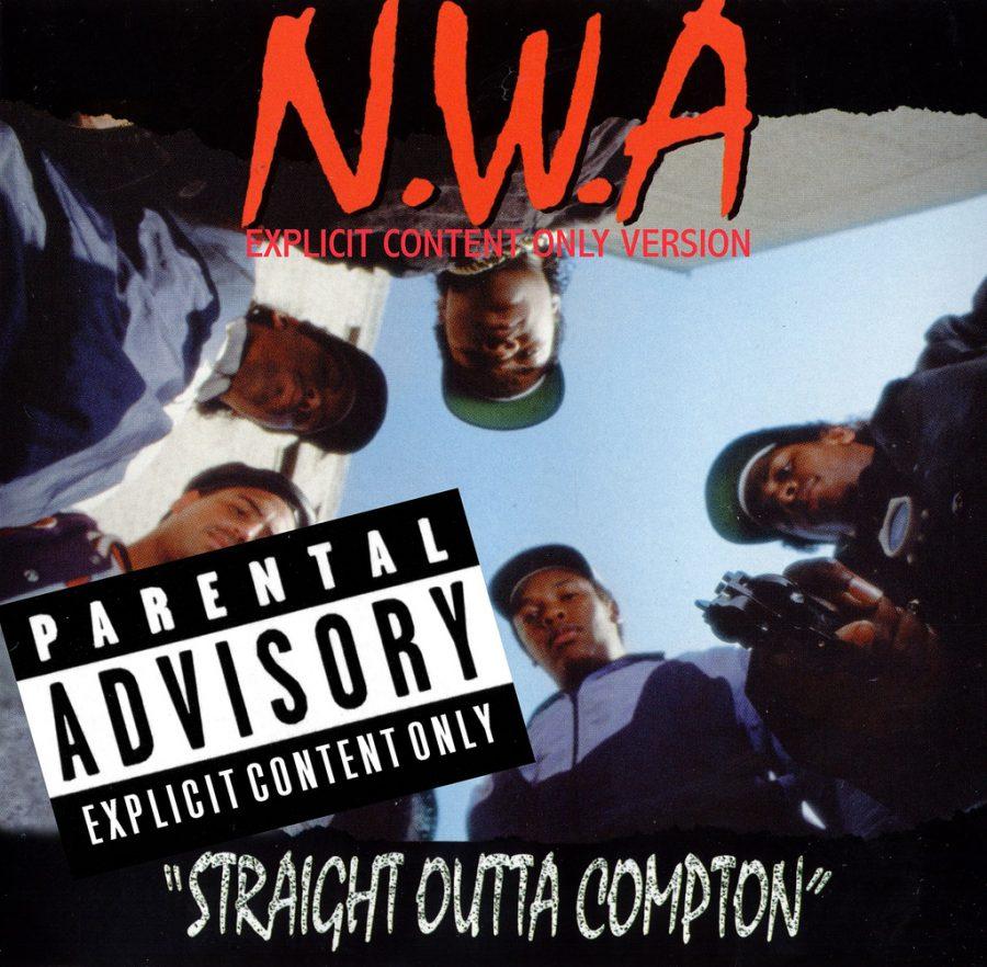 N.W.A. album cover