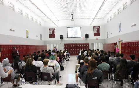 Presentation teaches students about their rights