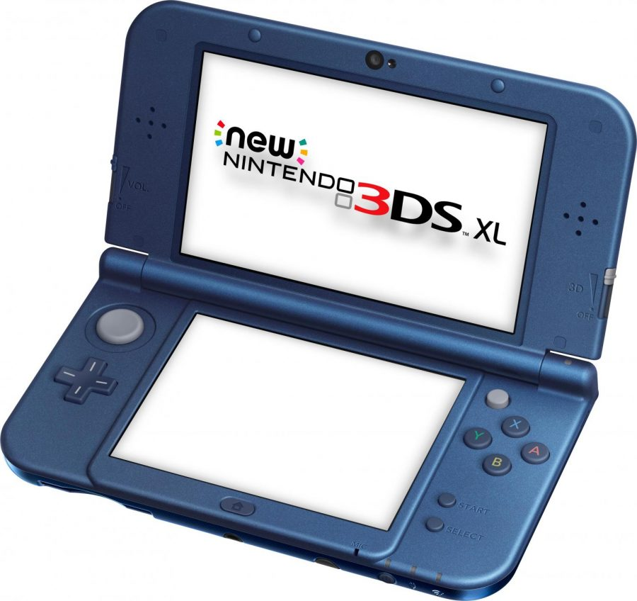 A modern adaption of a Nintendo game system: the 3DS XL
