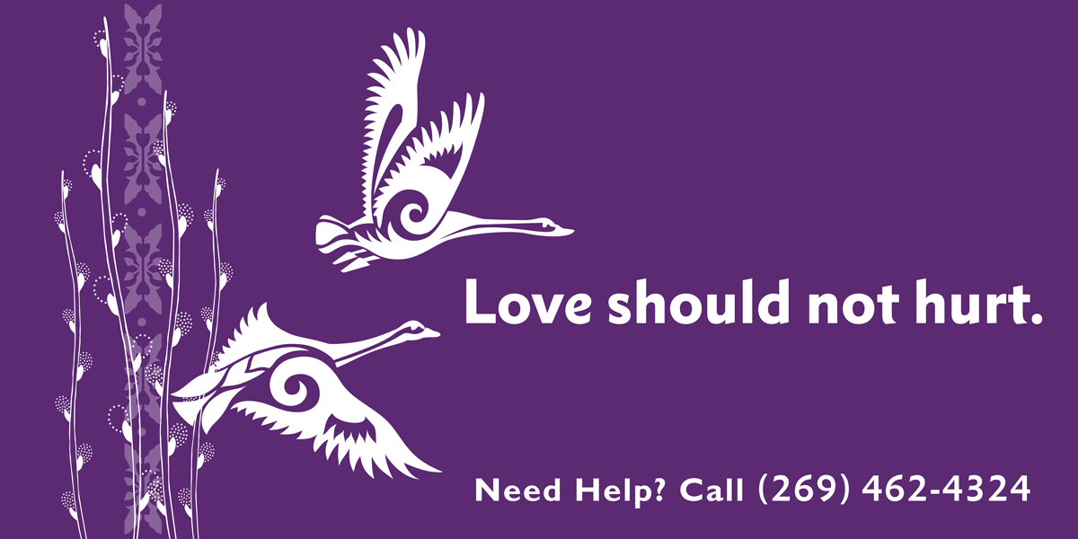 If you are someone you know is experiencing domestic violence, seek help.