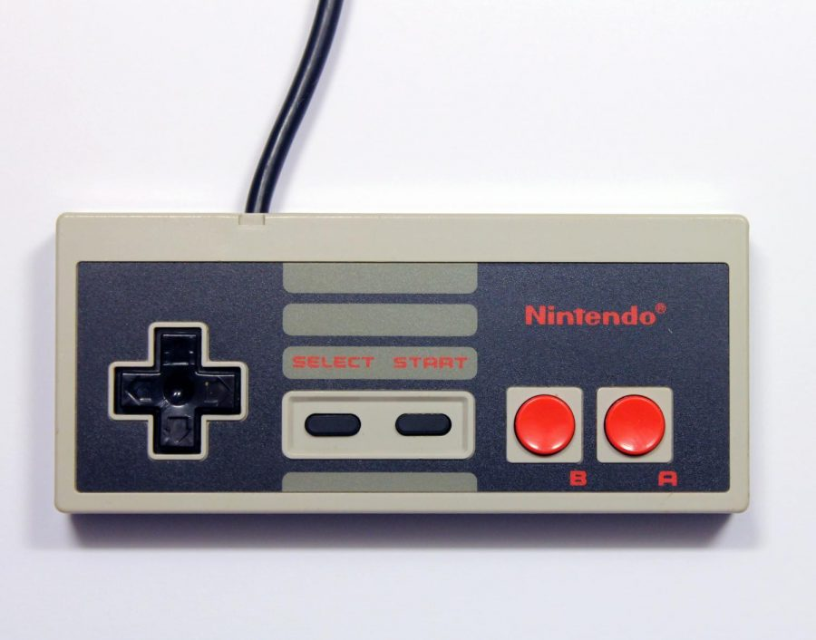 The original NES controller and the first controller to make use of the D-Pad.