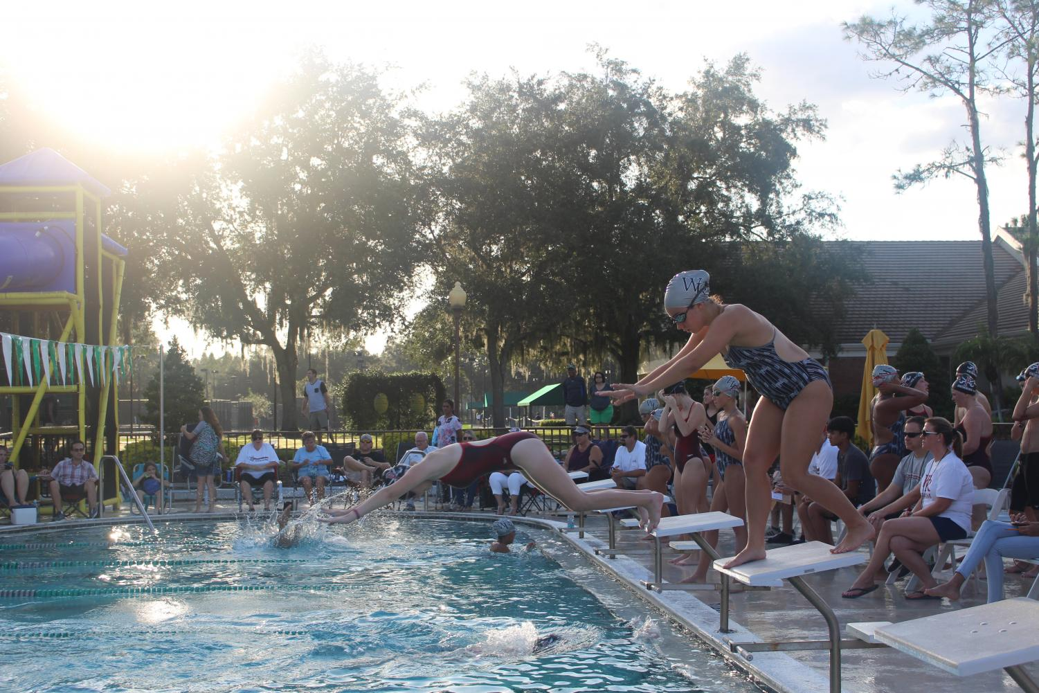 Wiregrass swim meet vs. Pasco