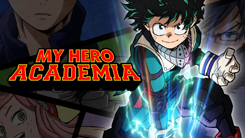 My Hero Acadmia promotional photo for Season 3.