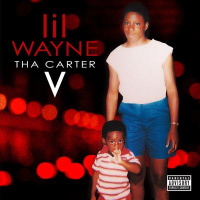 Official cover for Lil Wayne's Tha Carter V album.