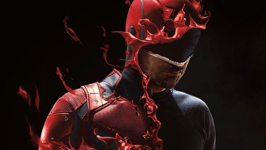 Promotional poster for season 3 of Daredevil.