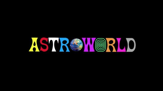 Travis Scott: Wish You Were Here Tour logo.