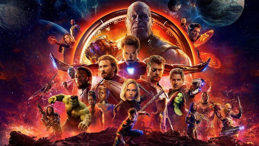 The insane ensemble cast in Avengers: Infinity War