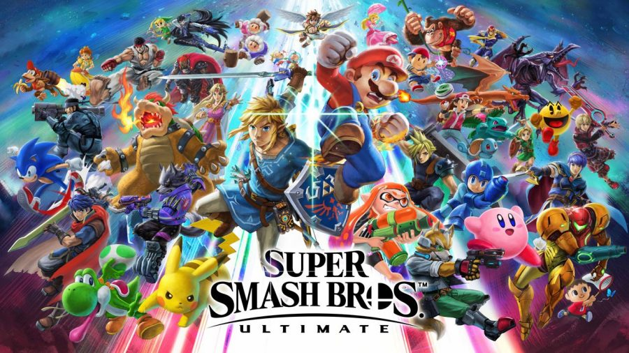 The cover art for Smash Ultimate.