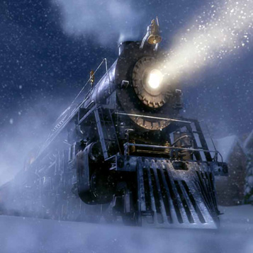 The train that plays a key role in the Polar Express