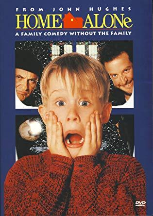 Home Alone movie cover.