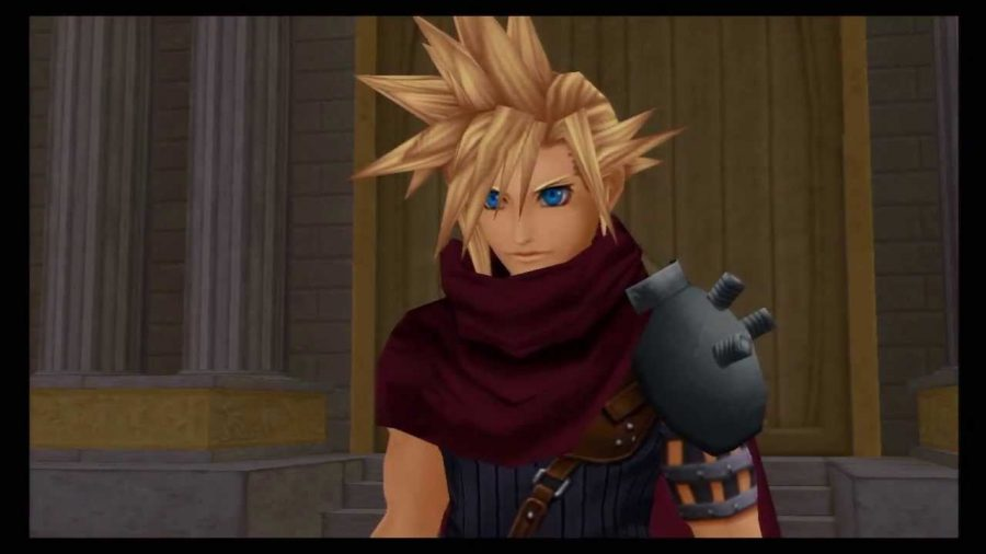 Image+taken+of+Cloud+Strife+from+Kingdom+Hearts+1.5.