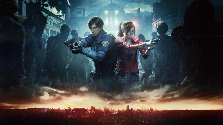 Promotional poster for the new Resident Evil remake.