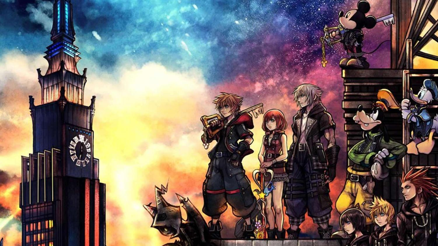 Promotional poster for Kingdom Hearts III