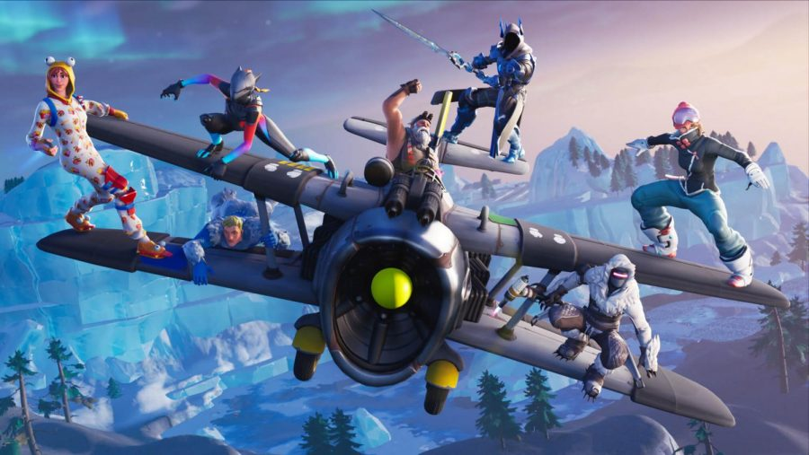 Fortnite's season 7 promo image.
