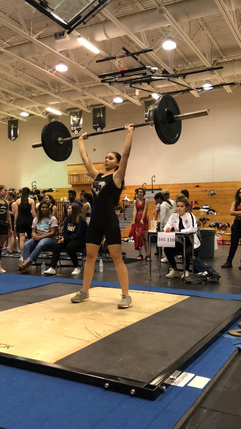 Girls Weightlifting Places 3rd In District Meet And Qualifies For