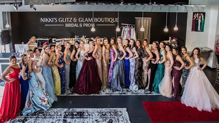 Nikki's Glitz and Glam Boutique hosting an amazing modeling experience for teenage girls in the community.