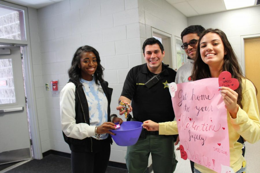 Corporal taking some candy to help support BOTB week on Valentines Day.