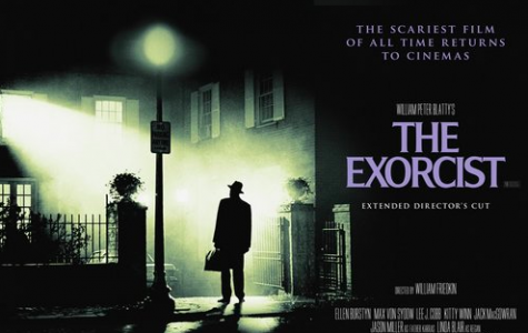 Official movie poster for The Exorcist.