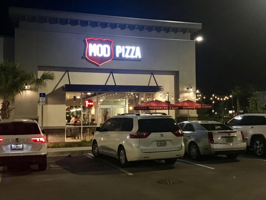 Mod Pizza Wesley Chapel was the second pizza location to open at the Tampa Premium Outlets.