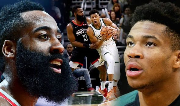 This years MVP race has become a two man race between James Harden and Giannis  Antetokounmpo.