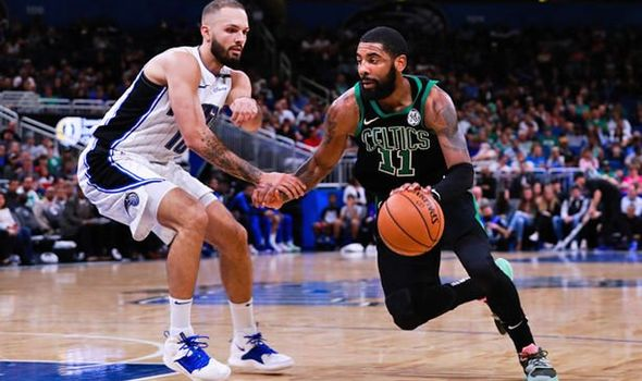 The Orlando Magic defeated the Boston Celtics 116-108 to clinch a playoff spot to end their six-season drought.